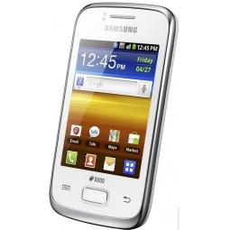 фото Смартфон Samsung Galaxy Y Duos GT-S6102. Цвет: белый