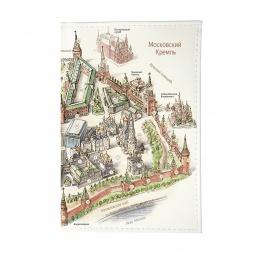 фото Обложка для паспорта Mitya Veselkov «Московский Кремль»
