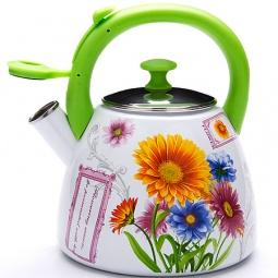 Купить Чайник со свистком Mayer&Boch «Клубника» MB-23935