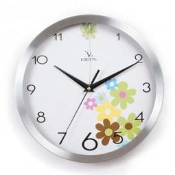 фото Часы настенные Вега Y 9104 «Цветочная поляна»