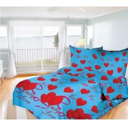 фото Комплект постельного белья Олеся My love. 1,5-спальный