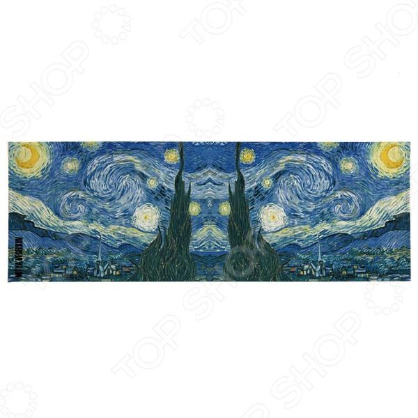 Обложка для студенческого билета Mitya Veselkov «Ван Гог. Звездная ночь» холодильник с морозильной камерой lg ga b409uqda