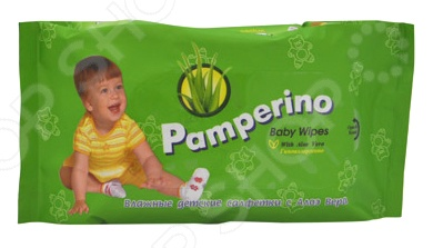 Набор салфеток влажных очищающих гипоаллергенных детских Авангард PA-15308 Pamperino набор салфеток влажных антибактериальных авангард sf 70900