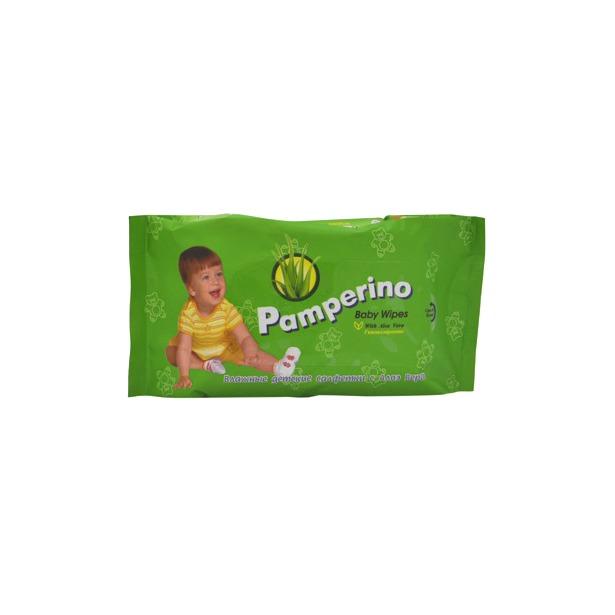 фото Набор салфеток влажных очищающих гипоаллергенных детских Авангард PA-15308 Pamperino