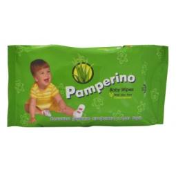 Купить Набор салфеток влажных очищающих гипоаллергенных детских Авангард PA-15308 Pamperino