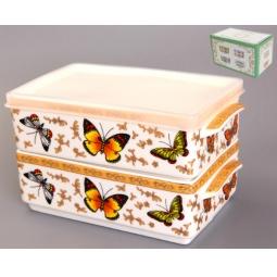 Купить Набор блюд для холодца Elan Gallery «Бабочки»