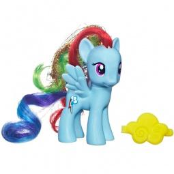 фото Набор игровой для девочки Hasbro «Рейнбоу Дэш с аксессуаром»
