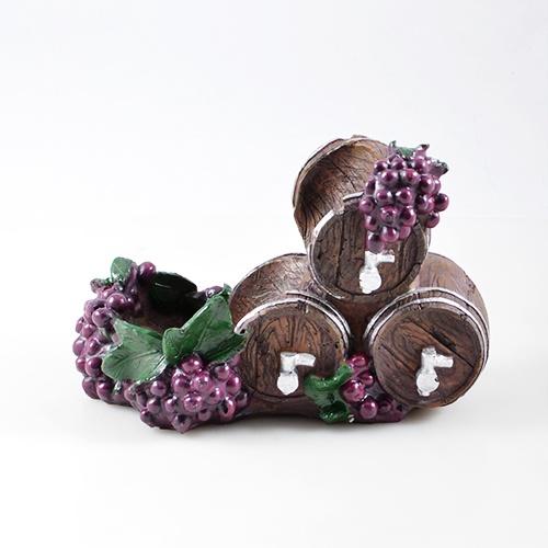 Подставка для вина Drivemotion Три бочки и виноград