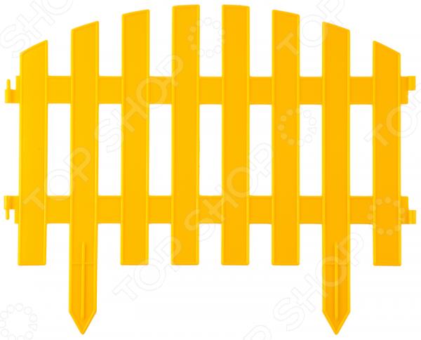 Забор декоративный Grinda «Ар Деко» 422203 Забор декоративный Grinda 422203-Y /Желтый
