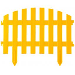 фото Забор декоративный Grinda «Ар Деко» 422203. Цвет: желтый