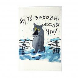фото Обложка для паспорта Mitya Veselkov «Волк из мультика»