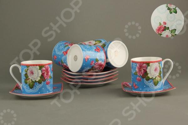 Чайный набор Коралл VGY14-M13 «Фантазия» стеллар детская посуда чайный набор