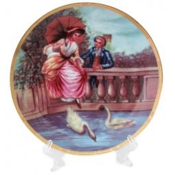 Купить Тарелка декоративная Elan Gallery «Влюбленные на мосту»