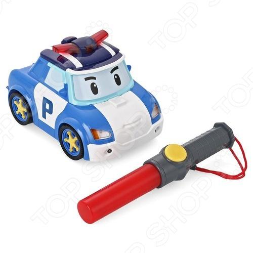 Машинка игрушечная Poli «Поли - следуй за мной!» машинка игрушечная poli майки