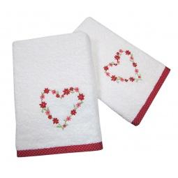фото Комплект полотенец подарочный TAC Valentines