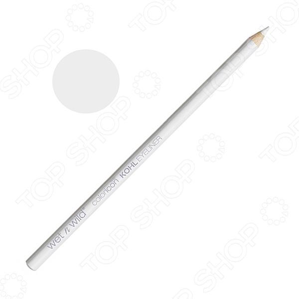 Карандаш для контура глаз Wet n Wild Color Icon Kohl Liner Pencil E608A Youre Always White. Тон: белыйДекоративная косметика<br>Карандаш для контура глаз Wet n Wild Color Icon Kohl Liner Pencil E608A You 39;re Always White станет отличным дополнением к набору декоративной косметики и прекрасно подойдет для макияжа глаз. Использование белого кайала позволяет придать взгляду еще большей выразительности и открытости. Карандаш отличается стойкостью, насыщенностью цвета и хорошей пигментацией. Он легко наносится, хорошо растушевывается и не размазывается.<br>