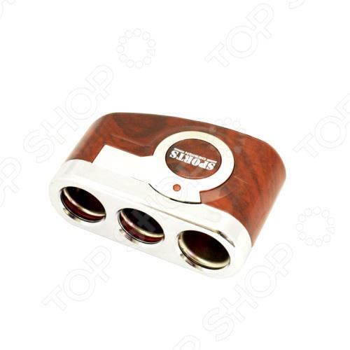 Разветвитель прикуривателя FK-SPORTS CLS-335Разветвители прикуривателя<br>Разветвитель прикуривателя FK-SPORTS CLS-335 обязательно пригодится тем, кто много времени проводит за рулем. Зачастую, салон современного автомобиля по наполнению электрооборудованием не уступает рабочему кабинету. Видеорегистратор, магнитола, навигатор, ионизатор воздуха, трансмиттер и многое другое можно подключать к автомобильному прикуривателю. FK-SPORTS CLS-335 на 3 гнезда позволит вам подключать сразу несколько гаджетов.<br>