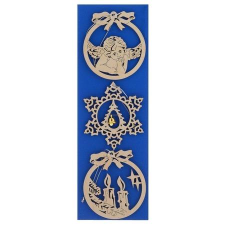 Купить Набор украшений деревянных Караван-СТ Н-19
