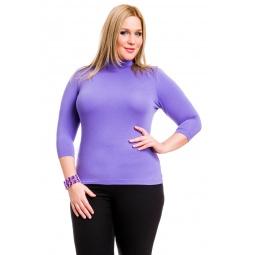 фото Водолазка Mondigo XL 7010. Цвет: ярко-сиреневый. Размер одежды: 48