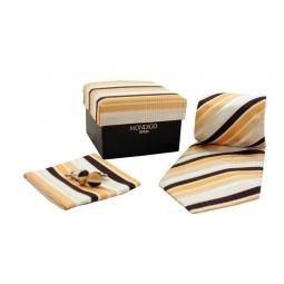 фото Набор подарочный: галстук, запонки, нагрудный платок Mondigo 43125