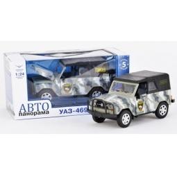 фото Машинка со светозвуковыми эффектами Автопанорама «УАЗ» J10030