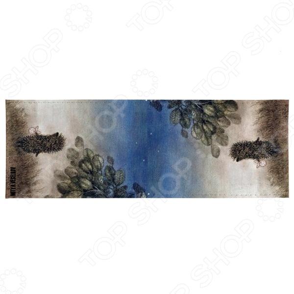 Обложка для студенческого билета Mitya Veselkov «Ежик ночью» обложки mitya veselkov обложка для паспорта ежик ночью