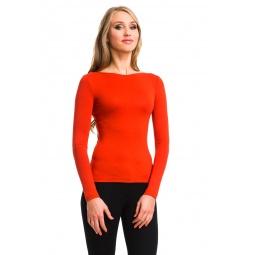 фото Кофта Mondigo XXL 405. Цвет: оранжевый. Размер одежды: 54