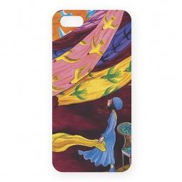 фото Чехол для iPhone 5 Mitya Veselkov «Платки и птицы-1»