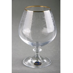 Купить Набор бокалов для бренди Коралл 40600/Q8105/400 «Анжела»