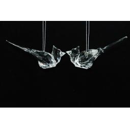 фото Елочное украшение Crystal Deco «Птичка» 1707711. В ассортименте