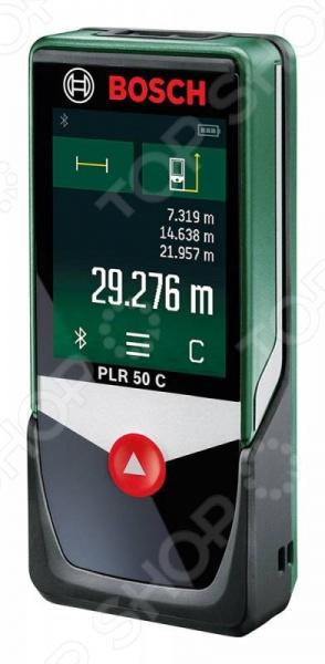 Дальномер лазерный Bosch PLR 50 C лазерный дальномер bosch plr 50 c 0603672220