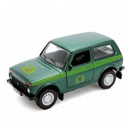 Купить Модель машины 1:34-39 Welly «Lada 4x4. Лесоохрана»