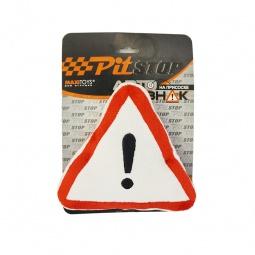 Купить Подушка-брелок Pit stop «!»