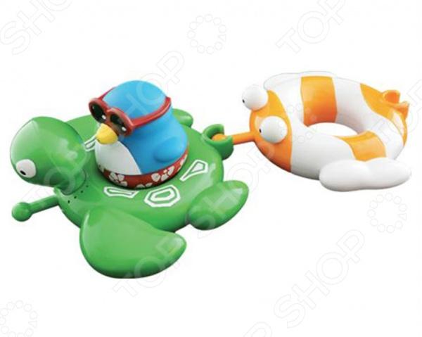 """Набор для ванны """"Веселые друзья: черепаха и рыба"""""""