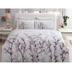 фото Комплект постельного белья TAC White garden. Евро