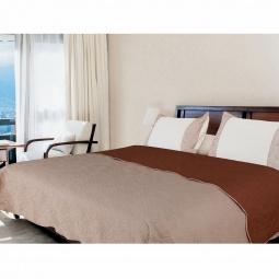 фото Покрывало Amore Mio Alba beige-brown. Размер: 160х200 см