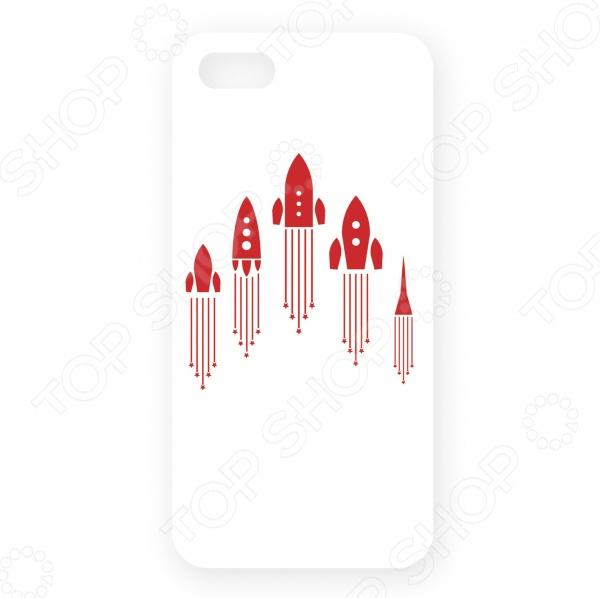 купить Чехол для iPhone 5 Mitya Veselkov «Ракеты» недорого
