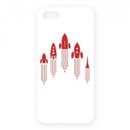 фото Чехол для iPhone 5 Mitya Veselkov «Ракеты»