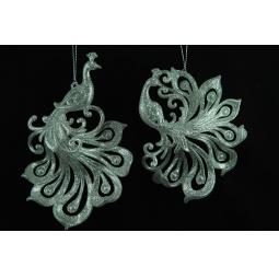 Купить Елочное украшение Crystal Deco «Королевский павлин». В ассортименте