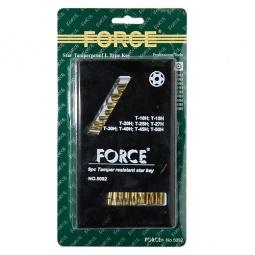 Купить Набор ключей торкс угловых ударопрочных Force F-5092