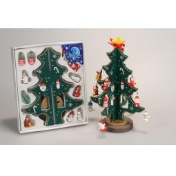 Купить Декорация рождественская Метелица «Елочка с игрушками»