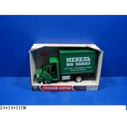 Купить Машина инерционная Joy Toy «Газель фургон Мебель» Р40515