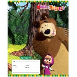 фото Тетрадь в линейку Росмэн «Маша и Медведь» 13946
