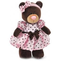 фото Мягкая игрушка Orange стоячая в летнем платье Milk «Медведь»