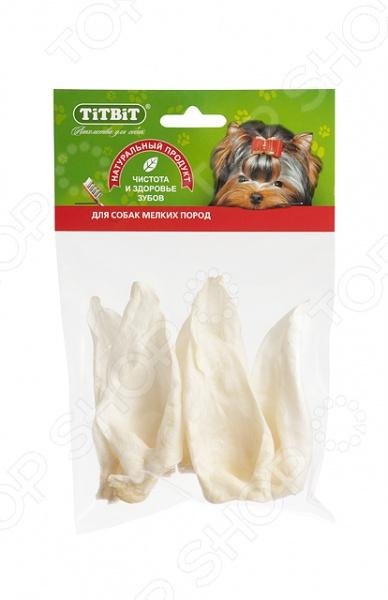 Лакомство для собак TiTBiT 8284 «Ухо кроличье диетическое» лакомство для собак titbit баранье ухо 3 шт