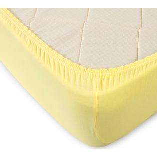 Купить Простыня ТексДизайн на резинке. Цвет: желтый