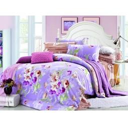 фото Комплект постельного белья Amore Mio Present. Provence. Семейный