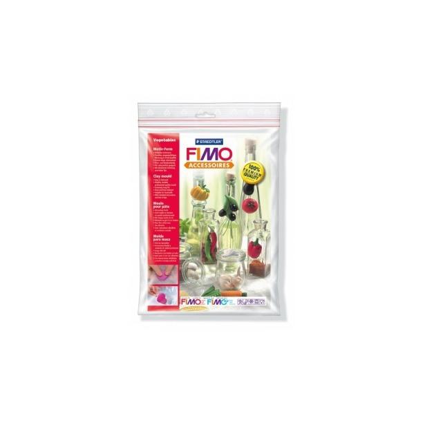 фото Набор формочек для лепки Fimo «Овощи»