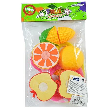 Купить Игровой набор для девочки Shantou Gepai «Овощи и фрукты для резки» FD232-18