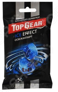 Набор салфеток влажных для рук очищающих Авангард TG-48230 Top Gear